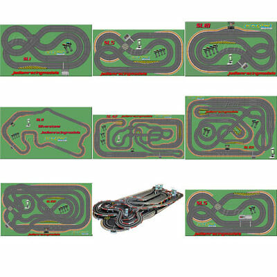 SCALEXTRIC Set JadlamRacing SL Layout - Digital Choose Set