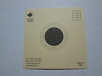 Competition grade Air Rifle 10 meters Targets Krüger ISSF Approved 105T