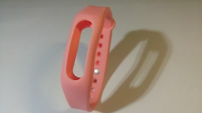 Recambio Pulsera Xiaomi Mi Band/miband 1S De Color Rosa Chicle