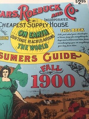 Sears, Roebuck and Co.Consumers Guide Fall 1900