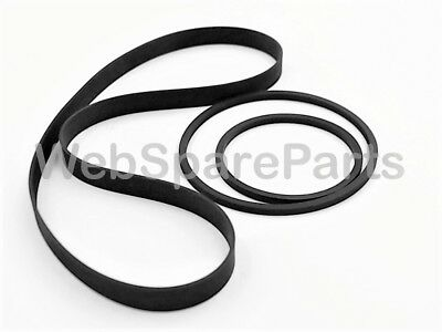 Sharp  RT-10 & RT-10BK Tape Deck Belt kit Replacement (3 Belts)