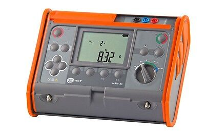 Sonel MRU-21 Ground Resistance Tester with USB interface