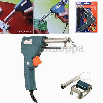 220v 60W Automatic Send Tin Soldering Iron Gun Tool Solder Stand HOT