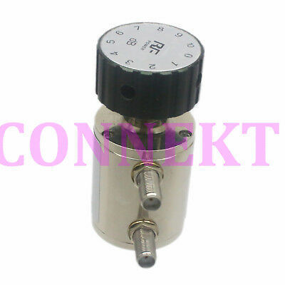 RF Coaxial Adjustable Step 1db Attenuator SMA connector DC-6.0GHz 2Watts 0~10dB