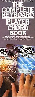 The Complete Keyboard Player Chord Book - Kenneth Baker