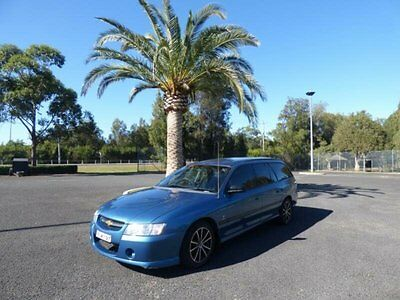 2005 Holden Commodore VZ Executive Blue Automatic 4sp A Wagon