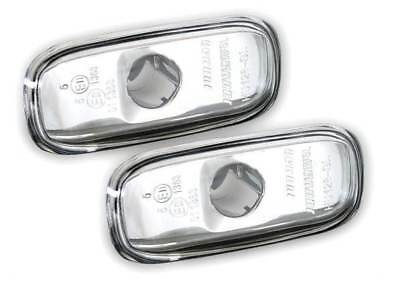 For Audi  A4 2001 - 2008 Crystal Clear Side Repeaters Indicators 1 Pair