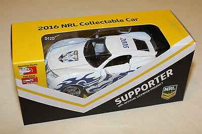 Canterbury Bulldogs 2016 NRL Official Supporter Collectable Model Car New