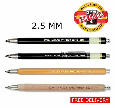 Mechanical Pencil Clutch Leadholder 2.5mm Metal KOH-I-NOOR VERSATIL 5905 5205