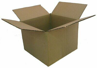 50-12x5x4 White Corrugated Shipping Mailer Packing Box Boxes M1254