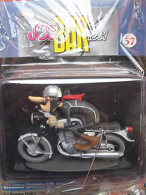 Joe Bar Collection Nr.57 Honda CB 450 1966 exclusif  in Folie 1:18 mit Comic