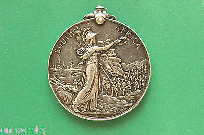 Queen Victoria South Africa Silver Medal Private W Parlane 18th Hussars SNo41148