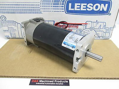 New Leeson CM31D17NZ23B DC Motor 180VDC 0.85A 1/6HP 96oz-in 1750RPM Fr.31