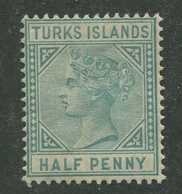 TURKS ISLANDS #48a MINT