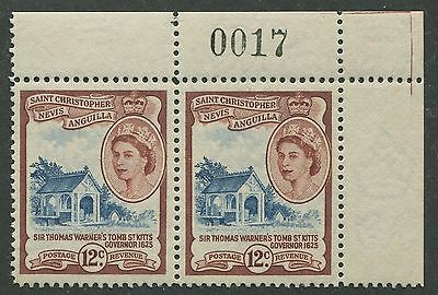 St. Christopher Nevis & Anguilla #128 Mint Pair