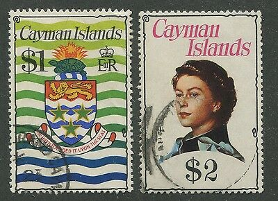 Cayman Islands #344, 345 Used Vf