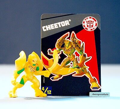 Transformers Tiny Titans Series 6 Robots in Disguise 4/12 Cheetor