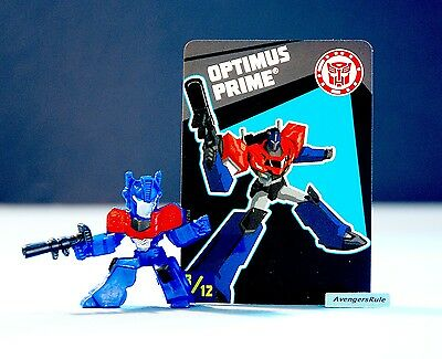 Transformers Tiny Titans Series 6 Robots in Disguise 8/12 Optimus Prime