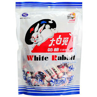 Chinese famous White Rabbit Creamy Milk Candy ( wrapped by Rice Paper ) 180g