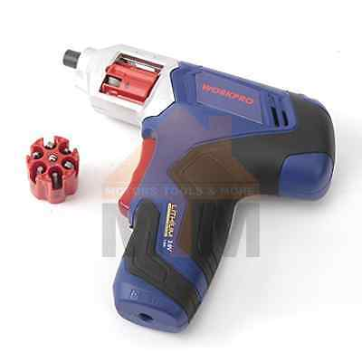 WorkPro 3.6V Cordless Electric Battery Quick Change Screwdriver Set