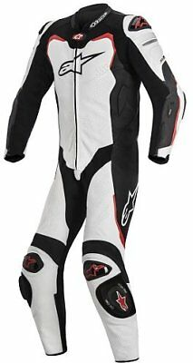 Alpinestars GP Pro Leather Suit for Tech-Air Race Black/White/Red 3155316-213-60