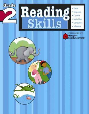 Reading Skills: Grade 2 (Flash Kids Harcourt Family Learning) by Flash Kids...
