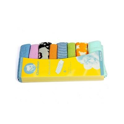 8 Pcs Soft Baby Infants Kids Newborn Children Bathroom Wipe Drool Towels Washclo