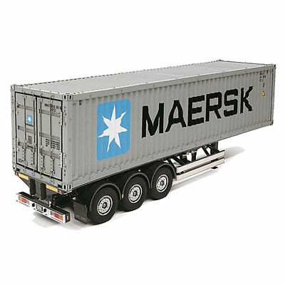 TAMIYA RC 56326 40ft Container Semi-Trailer for Tractor Truck Assembly Kit 1:14