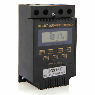 KG316T LCD Digital Display Microcomputer Time Switch Timer Controller DC/AC 12V