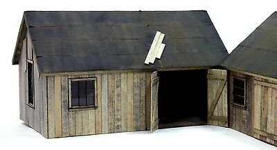 O SCALE On3/On30 BANTA MODEL WORKS #6126 Blacksmith Shop Annex/Barn..