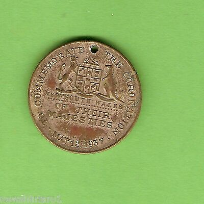 #d257.  1937  New  Southh Wales  Coronation George Vi  Medal