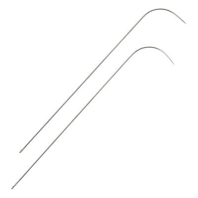 Seed Bead Spinner Curved Needles 8.5cm | Spin and String Pack of 2 (H105/1)