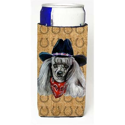 Poodle Dog Country Lucky Horseshoe Michelob Ultra bottle sleeves For Slim Cans