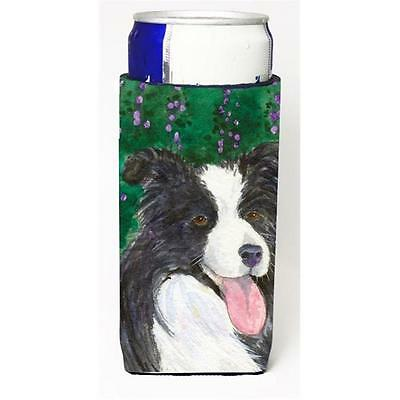 Carolines Treasures Border Collie Michelob Ultra s For Slim Cans 12 oz.