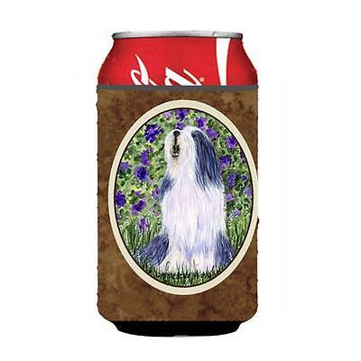 Carolines Treasures SS8602CC Bearded Collie Can Or bottle sleeve Hugger 12 oz.