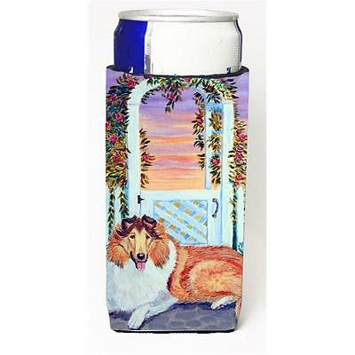 Carolines Treasures Collie Michelob Ultra bottle sleeves For Slim Cans 12 oz.