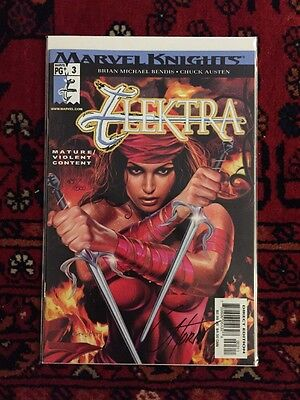 ELEKTRA #3 Recalled Nude Edition DF Signed by Greg Horn 450/500 NM