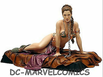 STAR WARS GENTLE GIANT PRINCESS LEIA as JABBA'S SLAVE STATUE MAQUETTE MIB!!