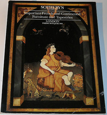 Sotheby's Auction London June 14 1991 French & Continental Furniture &Tapestries