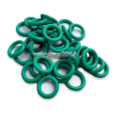10*Oil Resistant FKM Viton Seal Fluorine Rubber 1.5mm O-Ring Sealing Ring 4-24mm