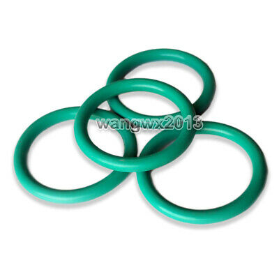 10P Oil Resistant FKM Viton Seal Fluorine Rubber 2mm O-Ring Sealing Ring 5-31mm