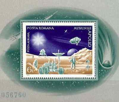 Timbre Cosmos Roumanie BF103 ** lot 13335