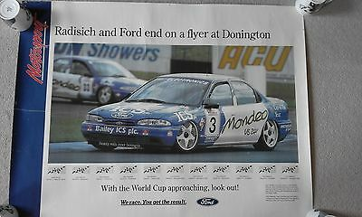 Ford Mondeo/Radisich 1994 BTCC Showroom Poster