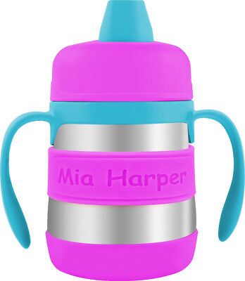 PACK of 2 Personalized Sippy Cup Labels & Baby Bottle Labels