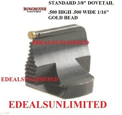 """.530 tall NO bead s10 3//8/"""" dovetail Winchester model 94 front sight 53M"""