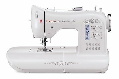100% Brand New SINGER One Plus 221-Stitch Computerized Sewing Machine with LCD
