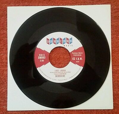 """DERRIERE """"Last Laugh"""" bw """"For The Night"""" ~ 7"""" 45RPM ~ Great British R&B!!!"""