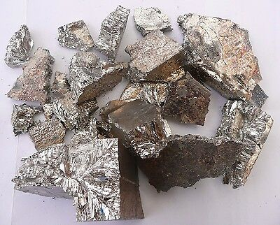 Pure Bismuth metal 99.99% 1 kg. Crystal growing, casting ,alloys, chemistry etc.