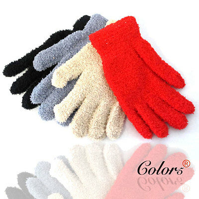 Color5 New Woman Lady Girl Winter Warm Soft Gloves