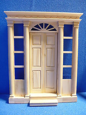 """Dolls House DIY  1/12 scale    Grand Front Door  11 1/8""""high      DHD2037"""